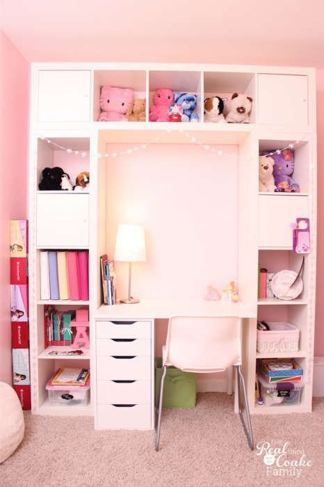 Girls Bedroom Ideas ~ Moving Girls from 1 Room to 2 Rooms