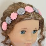 American Girl Crafts ~ Make a Pretty Embellished Headband