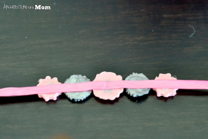 Cute idea and simple to make! American Girl Crafts to make an embellished headband. #AmericanGirl #Crafts #Headband #ModMelts #RealCoake