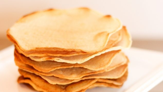 How to Make Tostada Shells from Corn Tortillas