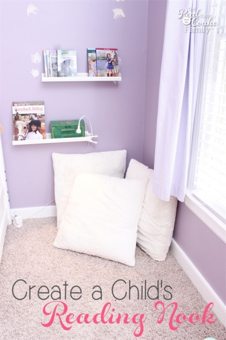Kids Bedroom Ideas To Create A Cozy Reading Nook In The Corner Of Room