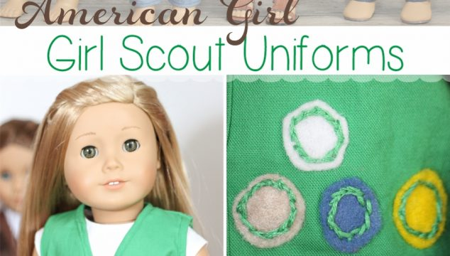 American Girl Doll Clothes – Make Girl Scout Uniforms