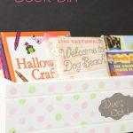 Flower Power Craft to Organize Books