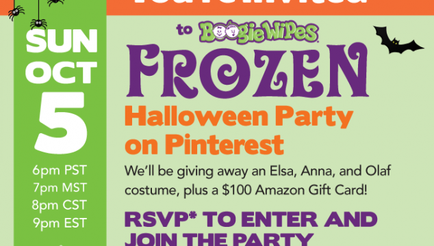 Join us for the Frozen Halloween Party on Pinterest. We'll be pinning our favorite Halloween and Frozen posts. You could win Frozen Halloween Costumes or a $100 Amazon Gift Card. Just click here to RSVP, and we'll see you at the party!