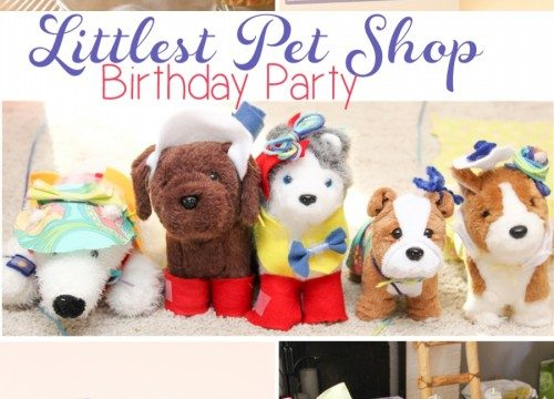 Littlest Pet Shop Birthday Party Ideas