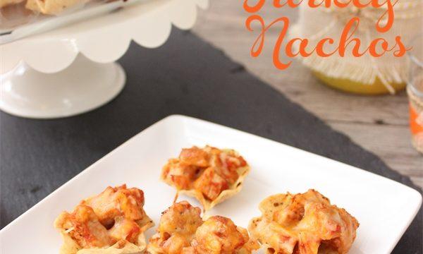 Turkey Nachos ~ Leftover Turkey Recipes