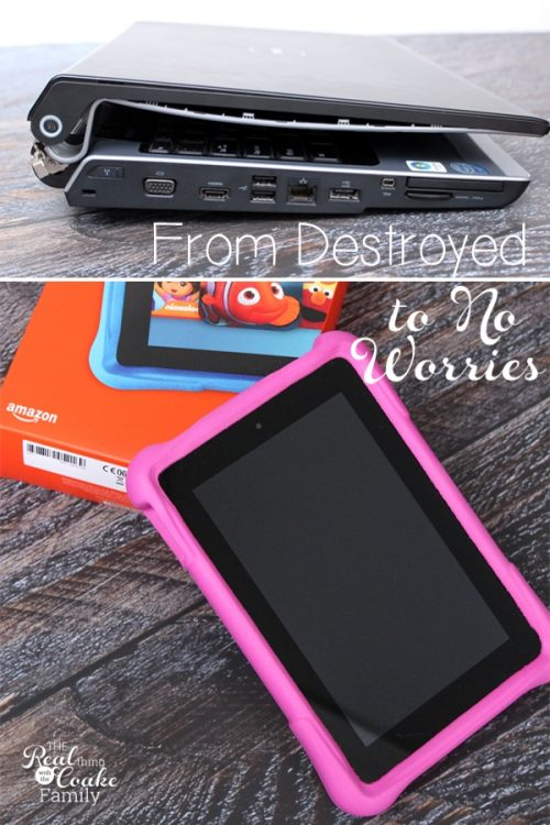 My kids destroyed our computer and what I'm doing about it...including how Amazon Freetime Unlimited is helping stop the fighting over electronics in our house! Sponsored