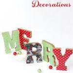 Merry DIY Christmas Decorations