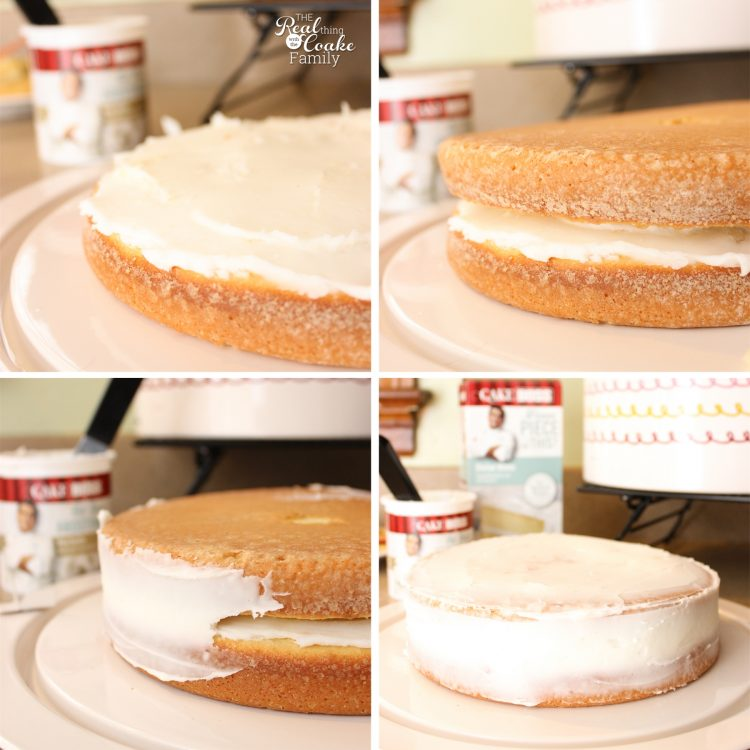 Now I can have pretty desserts with this tutorial on how to Make a Cake that is level and pretty every time. It is actually a lot easier than I thought! Sponsored