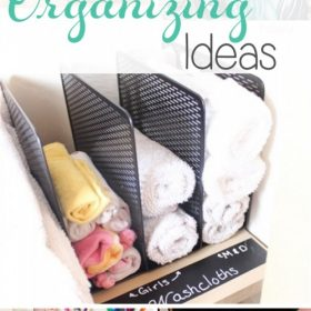 Over 20 Great Ways to Get Organized