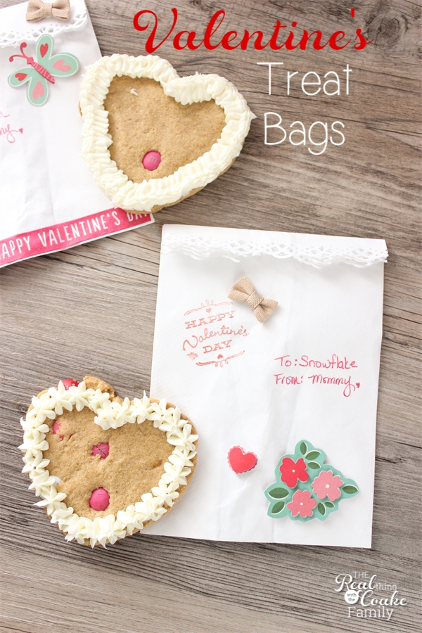 easy to make cute valentine 39 s day treat bags. Black Bedroom Furniture Sets. Home Design Ideas