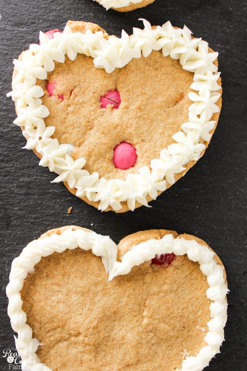 Yummy recipe to make easy chocolate chip cookies in heart shapes. These would be perfect Valentine's gift ideas for friends, kids, teens or my husband.