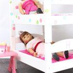 DIY American Girl Doll Bunk Beds