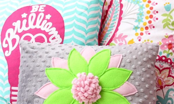 Decorative Pillows for a Teen's Room