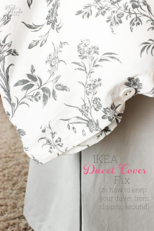 picture showing IKEA duvet cover
