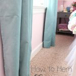 How to Hem Curtains in a Snap