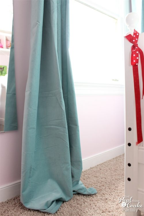 This Is Such A Simple Way To Hem Store Bought Curtains The Right Length In