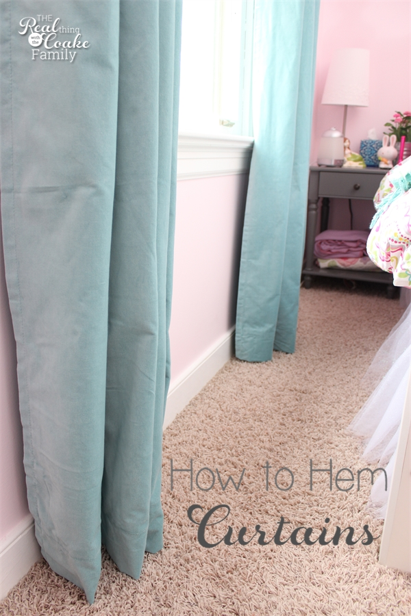 how to hem curtains in a snap. Black Bedroom Furniture Sets. Home Design Ideas