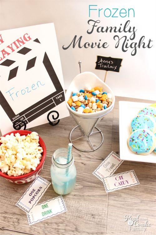 souper frozen family movie night fun