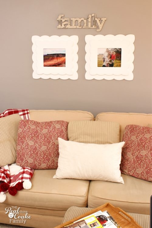Simple This is such cute diy family wall art Looks easy too So pretty and