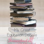 Keeping it Real with My Great Education Debate ~ Part 2