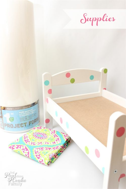 Fresh This is a great diy on how to make a Doll Bed Mattress that is sized
