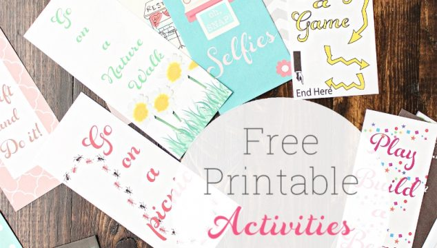 Free Printable Ideas of Activities for Kids (and You) ~ Real Summer of Fun