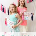 Back to School ~ Free Printable First Day of School Signs