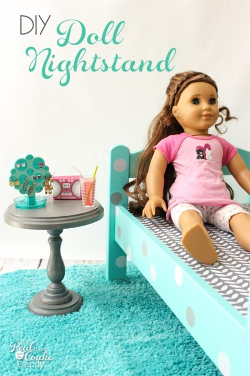 This Is Such A Cute Diy To Make A Doll Sized Nightstand. Perfect Craft To