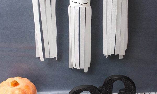 Upcycle Cans into Ghosts – Halloween Crafts
