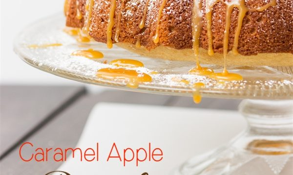 Fall recipes are so delicious and fun! This caramel apple pound Cake is so simple to make, delicious, and pretty.