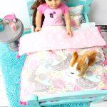 Sewing a Pom Pomrific American Girl Doll Comforter