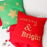 More Super Simple DIY Decorative Pillows ~ Christmas Edition