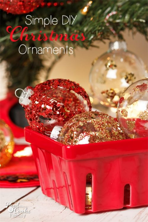These Are Such Pretty DIY Christmas Decorations And They Crafts For Kids Adults