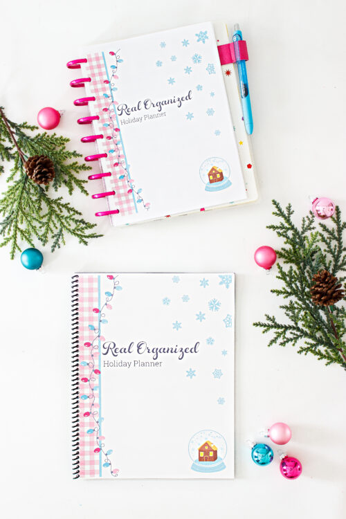 printable planner for getting the holidays organized