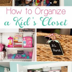 A Tale of 2 Doors and an Organized Kid's Closet