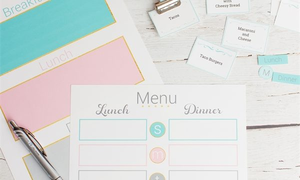 Real Organized Meal Planning