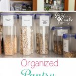 Real Organized Kitchen Pantry
