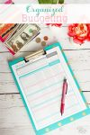Great tips on Budgeting. Covers how to set up a budget for beginners and has free printables, a worksheet and an app to help stay organized financially.