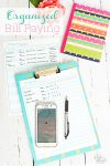 Love these free tips for bill organization and paying bills. Great system with ideas and printables to be on time with all our bills.