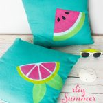 Simple, Bright and Fun Summer Decorative Pillows