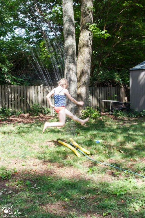 Sprinkler High Jump
