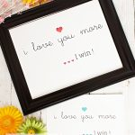 I Love You More Wall Art