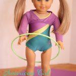 American Girl Crafts {Gymnastic Hoop}