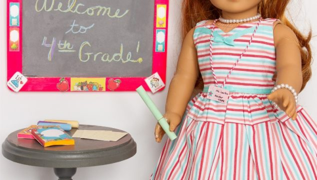 Back to School American Girl Doll Crafts