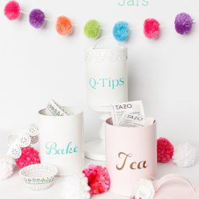 DIY Organization idea with a Cute Craft