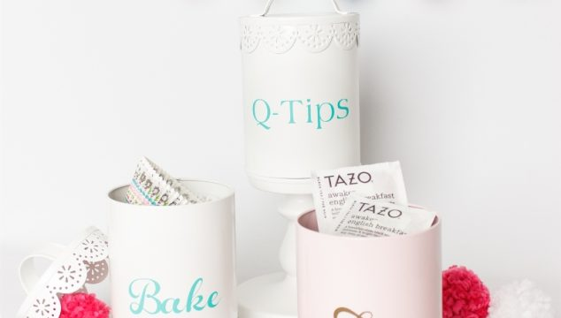 DIY Organization idea with a Cute Craft