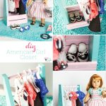 American Girl Idea to Make a Portable Closet