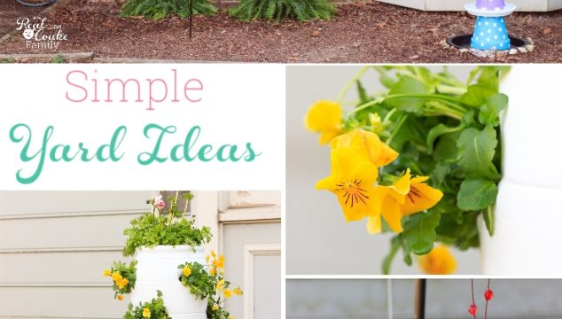 Spring Yard Refresh with Fun Backyard Ideas