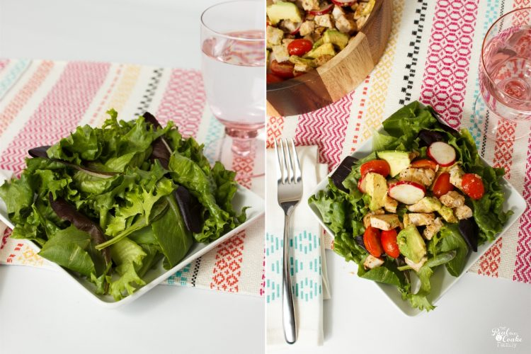This is such a yummy and healthy salad recipe. Perfect for an easy weeknight dinner. The kids loved it, too!